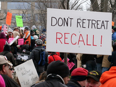 wisconsin recall protest 2 On, Wisconsin!